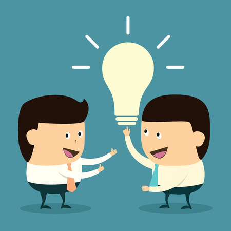 Have Excellent idea, Intelligence  Illustration