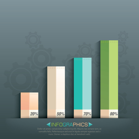 thrive: Business info graphics with graphs design