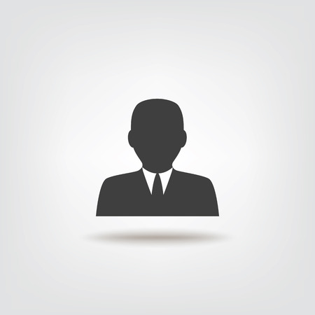 assign: Businessman icon sign icon