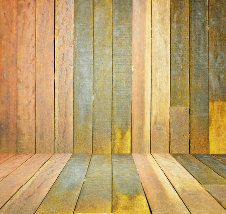 old, grunge wooden wall used as background Stock Photo - 18162162