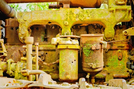 old age machinery photo