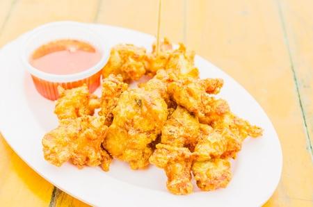 chicken fried photo