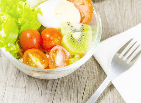 friut salad with vitamin photo