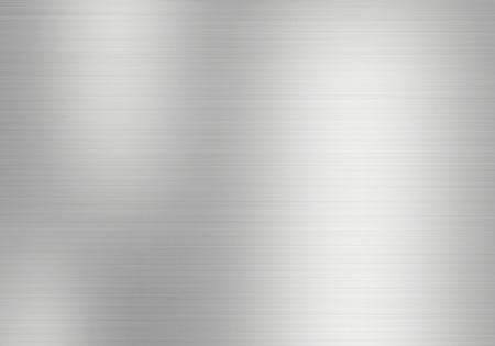 Metaal, roestvrij staal textuur achtergrond Stockfoto