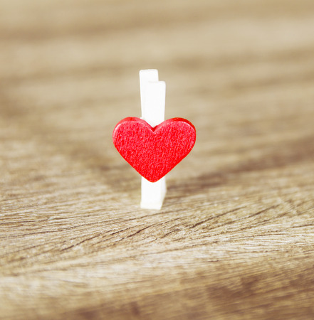 gift of hope: heart of love valentines day Stock Photo