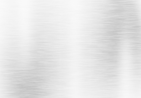 Metaalachtergrond of textuur van geborstelde staalplaat