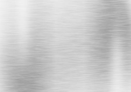 Metal achtergrond of textuur van geborsteld stalen plaat