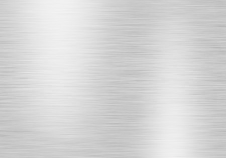 steel texture: Metal background or texture of brushed steel plate with reflections and shine