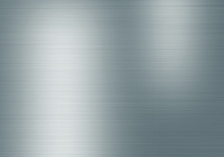 steel background: Metal background or texture of brushed steel plate with reflections Iron plate and shiny