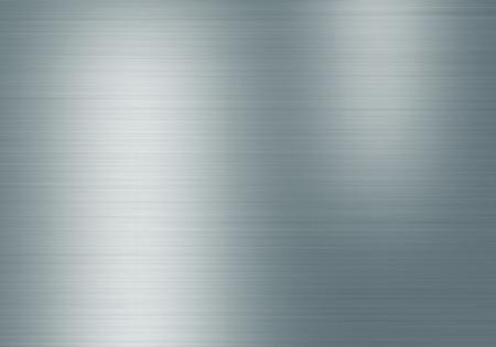 siderurgia: Metal de fondo o la textura de la placa de acero cepillado con placa reflexiones Hierro y brillante
