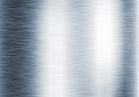 aluminium wallpaper: Metal background or texture of brushed steel plate with reflections Iron plate Stock Photo
