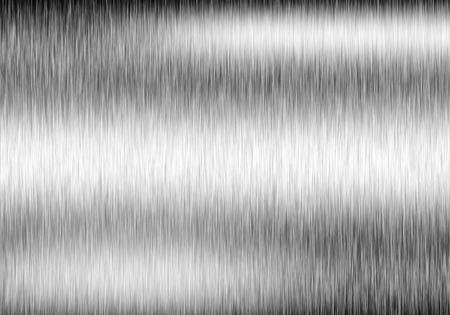 Metal background or texture of brushed steel plate with reflections Iron plate Stok Fotoğraf - 42105110