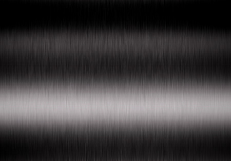 Metal background or texture of brushed steel plate with reflections Iron plate Stok Fotoğraf - 42105145