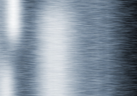 Metal background or texture of brushed steel plate with reflections Iron plate Stok Fotoğraf - 42117011