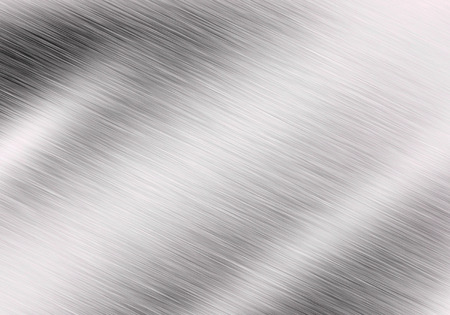 Metal background or texture of brushed steel plate with reflections Iron plate Stok Fotoğraf - 42117020