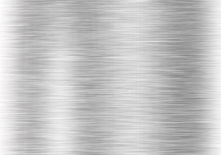 Metal background or texture of brushed steel plate with reflections Iron plate Stok Fotoğraf - 42116042
