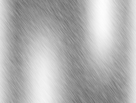 stainless steel sheet: Metal background or texture of brushed steel plate with reflections Iron plate and shiny