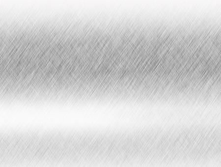 Metal achtergrond of textuur van geborsteld staal plaat met reflecties ijzeren plaat en glanzend