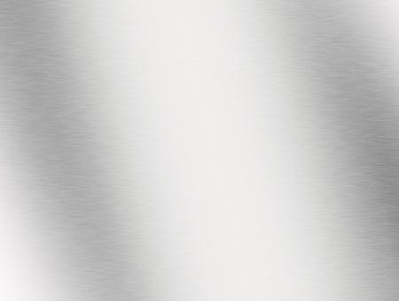 acero: Metal de fondo o la textura de la placa de acero cepillado con placa reflexiones Hierro y brillante