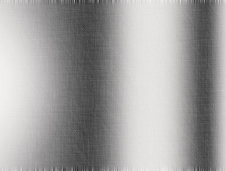 reflections: Metal background or texture of brushed steel plate with reflections Iron plate and shiny