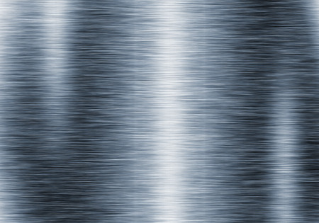 Metal background or texture of brushed steel plate with reflections Iron plate Stok Fotoğraf - 48542622