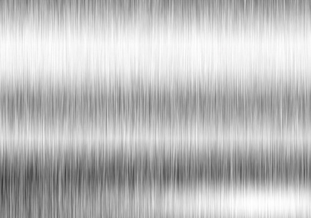 silver backgrounds: Metal background or texture of brushed steel plate with reflections Iron plate Stock Photo