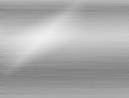 metal, stainless steel texture background with reflection Standard-Bild