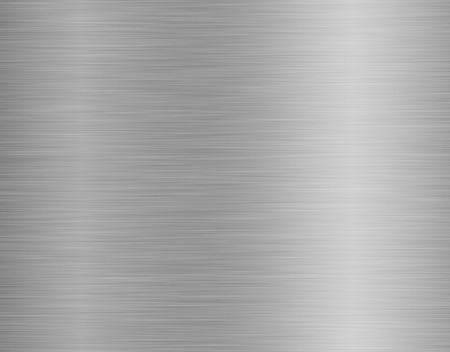 metal, acero inoxidable textura de fondo con la reflexión
