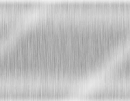 metaal, roestvrij staal textuur achtergrond met reflectie Stockfoto