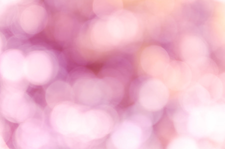 Violet purple bokeh out of focus background from nature forest Stock Photo