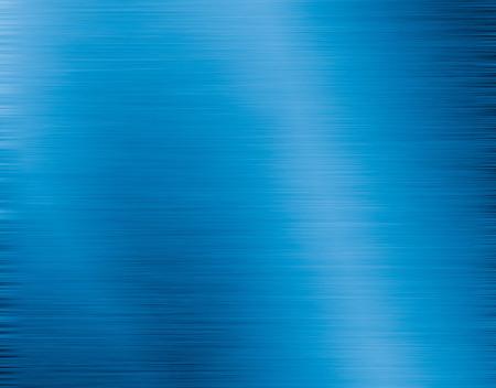 Blauwe metalen textuur Stockfoto