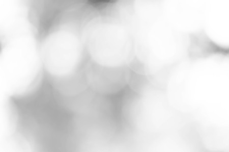 Gray bokeh blurred abstract for background Stock Photo