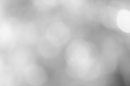 Gray bokeh blurred abstract for background Stockfoto
