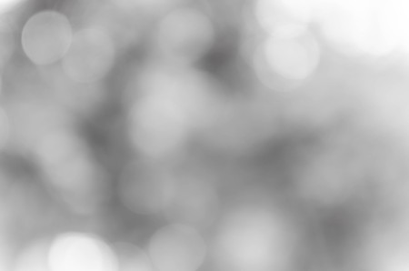 Black and White bokeh out of focus background from nature Stockfoto