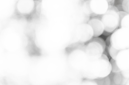 Black and White bokeh out of focus background from nature Stock Photo
