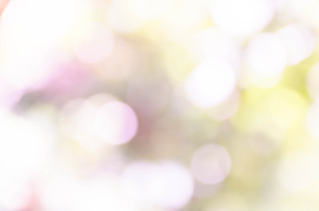 Blue bokeh out of focus background from nature forest Stock Photo