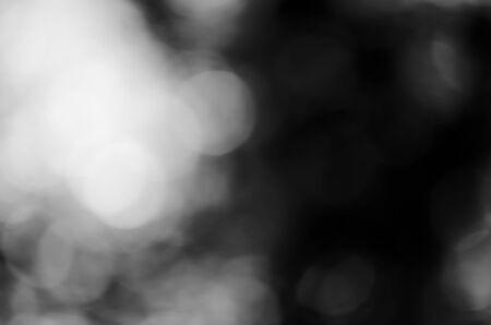 Dark tone blur bokeh light
