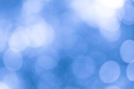 Blue tone bokeh background blur soft Stockfoto