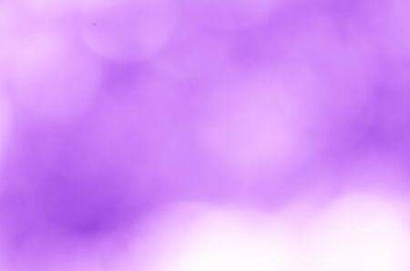 Lumière violette bokeh flou nature fond Banque d'images