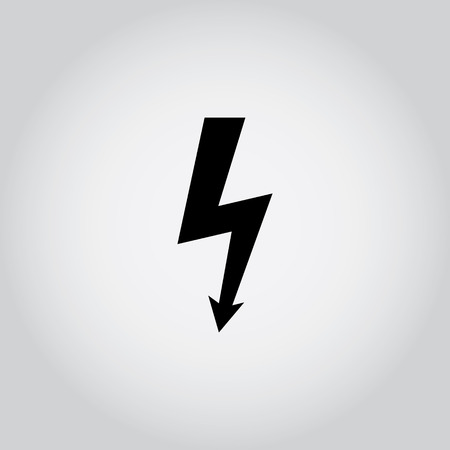 Lightning bolt icon photo