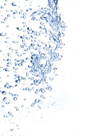 Burbujas en el agua dulce