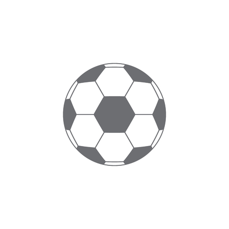 soccer ball icon. isolated Vector illustration Ilustrace