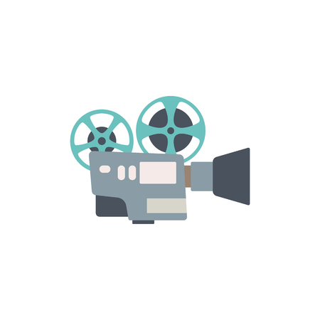 Cinema camera icon 向量圖像