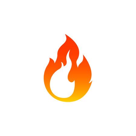 Fire icon Stock Illustratie