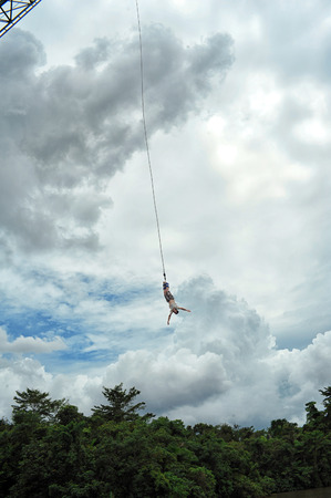 Bungy jump at Phuket photo