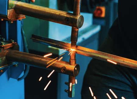 Spot Welding Machine.