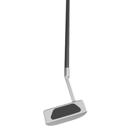 putter: 3d model of Putter Golf Club isolated on white background
