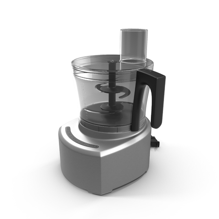 food processor: Food processor isolated on a white background.