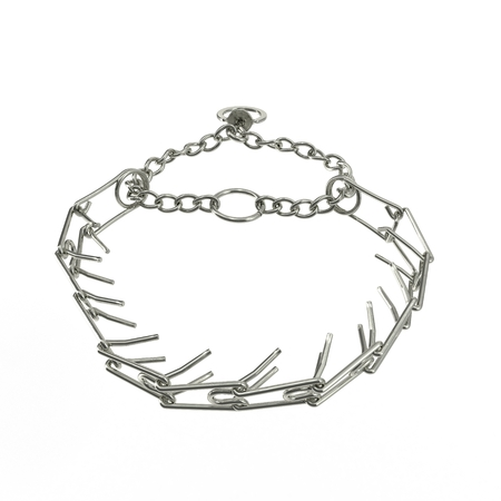 A dog chains isolated on a white background. 3D illustration