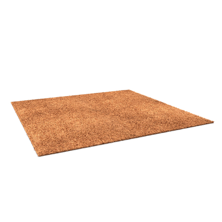 Rug isolated on white background. 3D illustration, clipping path Banco de Imagens